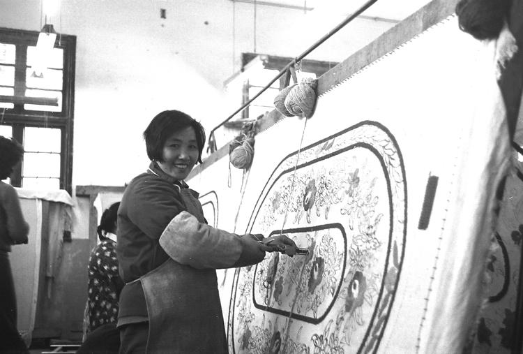 Rug Making in China