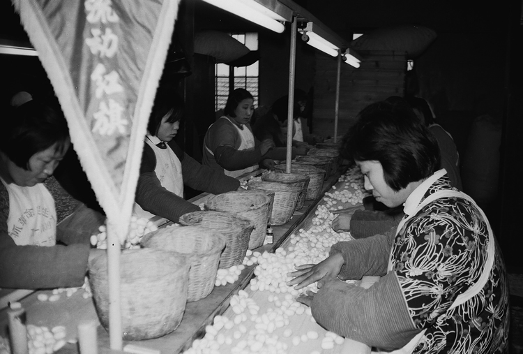 Silk Workers in China